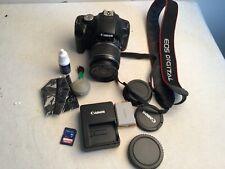 Canon Eos Rebel T1i Digital Slr Camera w/ 18-55mm Is Lens +extras