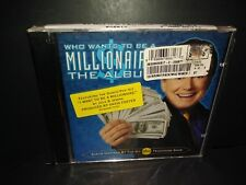 Who Wants to Be a Millionaire: The Album [Blister] by Various Artists (CD, Aug-2