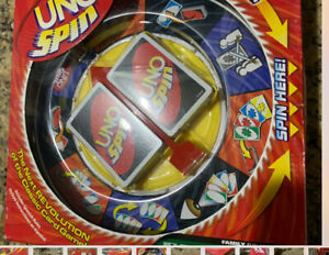 UNO Spin The Next Revolution Of The Classic Family Card Game by Mattel. Complete