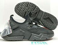 Nike Air Huarache Drift Mens Triple Black Training Running Gym AH7334 003 NIB