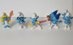McDonalds Happy Meal Toys Smurf Collection Plastic Toy Peyo 2013