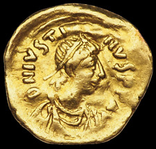 Justin II. 565-578. Gold Tremissis, Victory