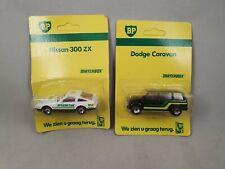 Matchbox 2 x BP - Nissan 300 ZX + Dodge Caravan OVP Macau