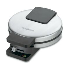 Cuisinart Classic Waffle Maker Round Non-stick Baking Electric Stainless Steel