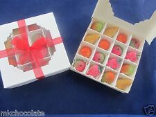 MARZIPAN FRUIT/S GIFT BOX CHRISTMAS/THANK YOU TEACHER/S/STOCKING/FATHERS DAY