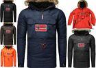 Geographical Norway Bronson Homme Veste Parka Veste Veste Blouson Poncho