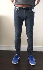 TOPMAN Grey STRETCH SKINNY jeans 69b07ldst