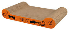 Trixie Wild Cat Kitten lying Scratching Cardboard Toy Catnip 41 × 7 × 24cm