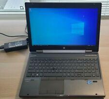 "HP EliteBook 8570w 15"" i7-3520M 8GB RAM, 128GB SSD, 500GB HDD, K1000M, Office 19"