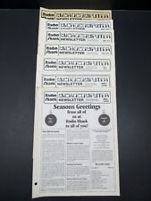 Radio Shack TRS-80 Microcomputer News, Lot of  24 Issues