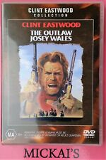 THE OUTLAW JOSEY WALES - CLINT EASTWOOD COLLECTION #21517 WARNER BROS DVD PAL