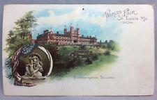 1904 WORLDS FAIR Administration Building ST LOUIS MO Postcard Antique