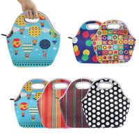 Hot Selling Lunch Box Bag Tote Heat Insulated Carry Bag for Travel Picnic Vogue
