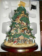 Thomas Kinkade Glory To The Newborn King Nativity Tree - original paper
