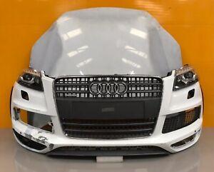 Audi Q7 facelift 2012- 15 genuine front bumper ,xenon  HEADLIGHTs ,bonnet