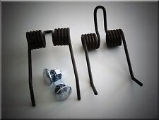 2 x Ersatzfeder mit Schrauben für Kraftharke