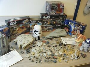 HUGE STAR WARS MICRO MACHINES MIXED BUNDLE 7 SETS 6 BOXED 117 FIGURES/SHIPS