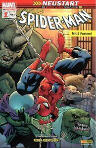 Die echten Helden sind zurück! Spider-Man Comic Nr. 1: Alles auf Anfang