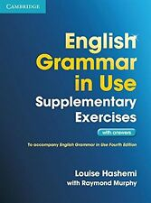 English Grammar in Use Supplementary Exercises with Answers NEU Taschen Buch  Lo