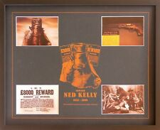 New Ned Kelly Memorabilia Framed
