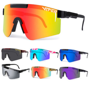 NEW luxury brand Polarized  Mirrored lens Pit Viper Sunglasses