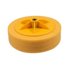 "6"" Auto Car Polishing Sponge Waxing Buffing Mop Pad Polisher Care Tool Yellow"