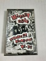 Motley Crue Decade of Decadence 81-91 Cassette Tape Dr Feelgood Live Wire