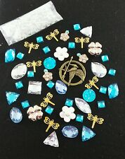 US Seller DIY Bling Cell Phone Case Deco Kit Mocking Jay Rhinestone flatback