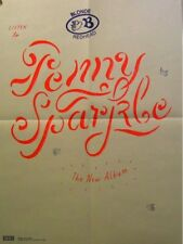 BLONDE REDHEAD POSTER, PENNY SPARKLE LARGE (A7)