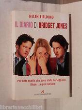 IL DIARIO DI BRIDGET JONES Helen Fielding Sonzogno 2001 Romanzo Racconto di e