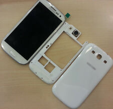 +Frame White Full Housing LCD Screen Touch Digitizer for Samsung Galaxy S3 i9300