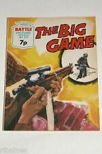 Battle Picture Library Comic, Number 831 The Big game, British Pocket