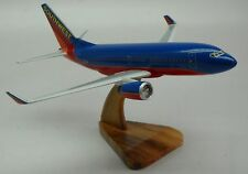 B-737 Boeing Southwest Airlines Winglet B737 Airplane Desk Wood Model Big New