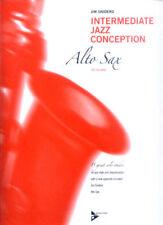 Jim Snidero intermediate jazz conception Alt-saxo alto saxos notas con CD