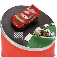 CARS Pixar Cake Decoration Party Supplies Birthday Birthday Cupcake Top Kit  Set