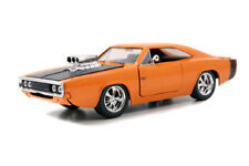1970 DODGE CHARGER R/T W/ ENGINE BLOWER 1/24 ORANGE BY JADA BIGTIME 96953 NEW