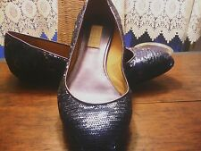 WOMEN'S  American Glamour Badgley Mischka Womans shoe 7/1/2 M Blue Sparkle