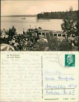 Ansichtskarte Schorfheide Werbellinsee Anleger Schiff 1964