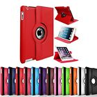 """360 Rotating Case for Apple iPad 2 3 4 9.7"""" 2019 2020 10.2"""" Leather Stand Cover"""
