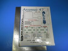 2005 Burton Snowboard Company Avenue 47 Lay-Up Sidewall Instructions M6165