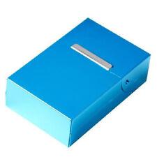 Bleu ciel Boite Etui a Cigarette Cigare pour 20 Cigarettes en Alliage d'alu C2N7