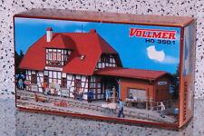 """VOLLMER 3501/43501 [Spur H0, Bausatz] - Bahnhof """"Spatzenhausen"""" - NEUWARE!"""