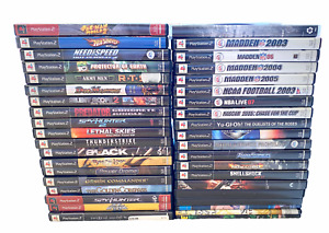 Playstation 2 (PS2) Game Lot YOU PICK & CHOOSE - GOOD CONDITION & TESTED!