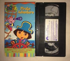 Dora the Explorer - Pirate Adventure (VHS, 2004) NICK JR NICKELODEON RARE
