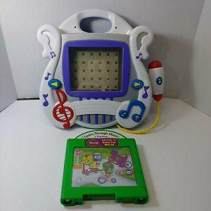 Mattel 2004 Learn Through Music Plus &  Cartridge Barney's Colorful World