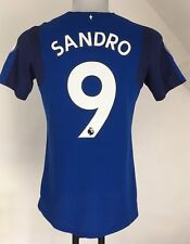 EVERTON 2017/18 S/S HOME SHIRT SANDRO 9 BY UMBRO SIZE ADULTS MEDIUM NEW