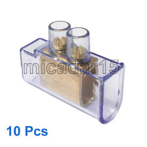 10 pcs x 35mm² Double Screw Connector Cable Terminals - Price inc GST & Tax inv