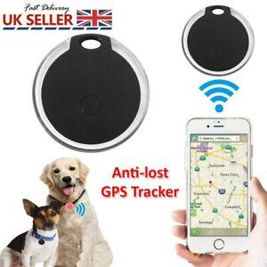 Mini Bluetooth Pet Anti-lost GPS Tracker Finder Device For Kids Dog Cat Keys UK