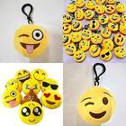Emoji Smiley Stuffed Plush Toy Key Chain Emoticon Soft Cushion Keychain Gift