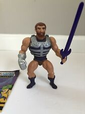 MOTU Vintage FISTO He-Man Masters of the Universe 100% Complete With Mini-Comic